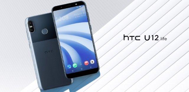 HTC представила новый среднебюджетный смартфон HTC U12 Life