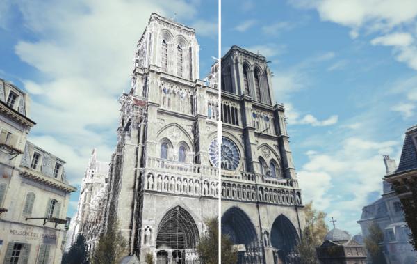 Собор Парижской Богоматери смогут детально восстановить благодаря Assassin'sCreed: Unity
