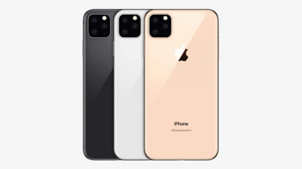 В сеть утекли фотографии макетов iPhone XI и iPhone XI Max