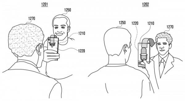 Samsung может выпустить смартфон с экраном, обернутым вокруг корпуса