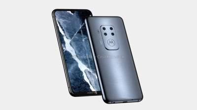 Новый смартфон Motorola показался на рендерах