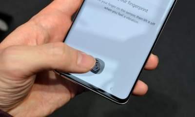 Samsung выпустила минорное обновление для Galaxy S10