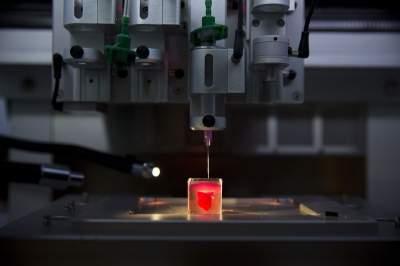 Живое сердце впервые напечатали на 3D-принтере