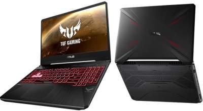 ASUS представила игровой ноутбук TUF Gaming FX95DD
