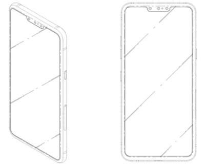 LG проектирует смартфоны с тройной фронтальной камерой