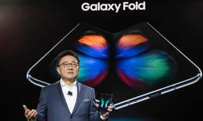 Samsung отложила выход на рынок гибкого Galaxy Fold