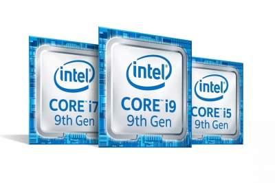 Intel представила мобильные процессоры Core 9-го поколения
