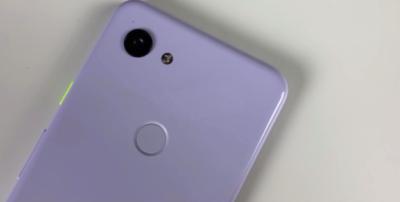 Google Pixel 3a показали в необычном цвете