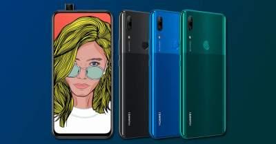 Huawei готовит к выпуску смартфон с выдвижной камерой