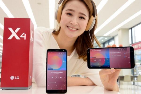 LG X4 (2019): бюджетник с Hi-Fi Quad DAC и защитой от ударов по военному стандарту MIL-STD-810G
