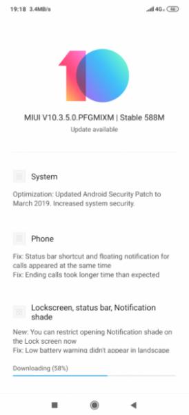 MIUI 10.3.5.0 для Redmi Note 7: что нового и когда ждать