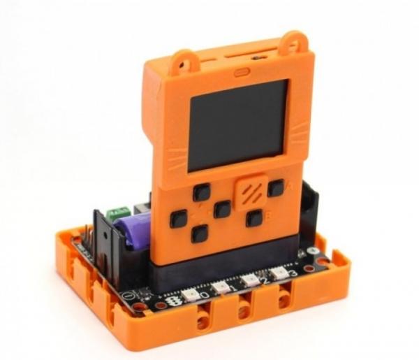 Kittenbot Meowbit – дешевая программируемая мини-консоль