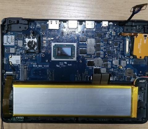 GPD разрабатывает портативный ноутбук-консоль на процессоре Ryzen