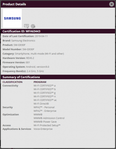 У владельцев Samsung Galaxy S7 появилась надежда получить Android 9.0