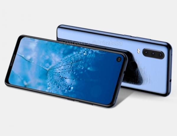 Рендеры и 3D-модель Motorola P40 Power с тремя камерами и «дыркой»