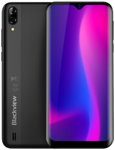 Blackview A60: $50 за смартфон с большим экраном и батареей на 4080 мАч