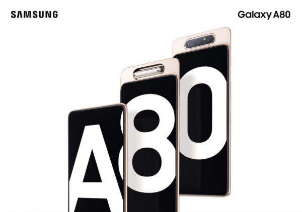 Samsung Galaxy A80: флагман A-серии с выдвижной тройной камерой и чипом Snapdragon 675 (обновлено)
