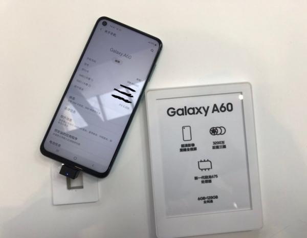 Живые фото и характеристики Samsung Galaxy A60 с «дыркой» в экране