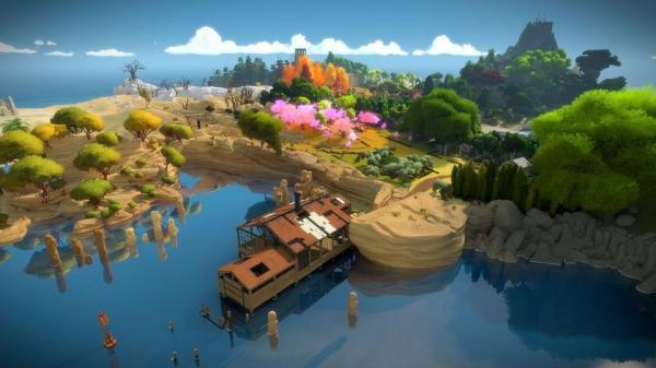 Красочная головоломка The Witness стала бесплатной вEpic Games Store