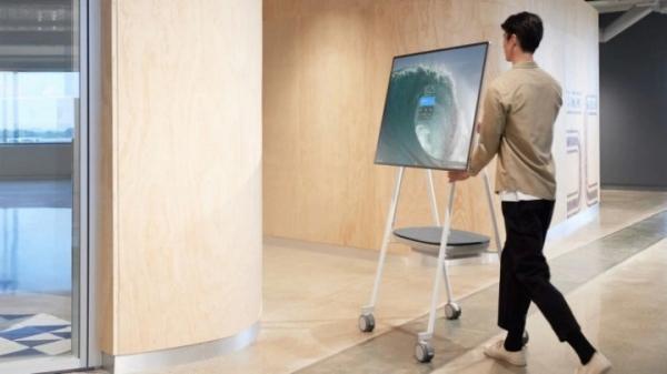 Surface Hub 2S – гигантский компьютер с 85-дюймовым сенсорным дисплеем