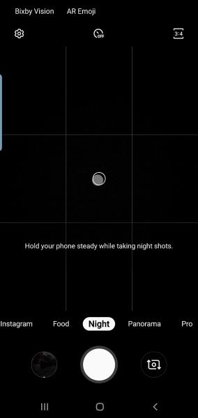 Samsung Galaxy S10 получил отдельный режим Ночь для камеры