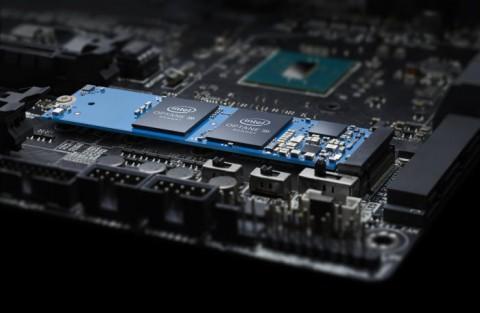 Intel представила линейку гибридных SSD с памятью Optane