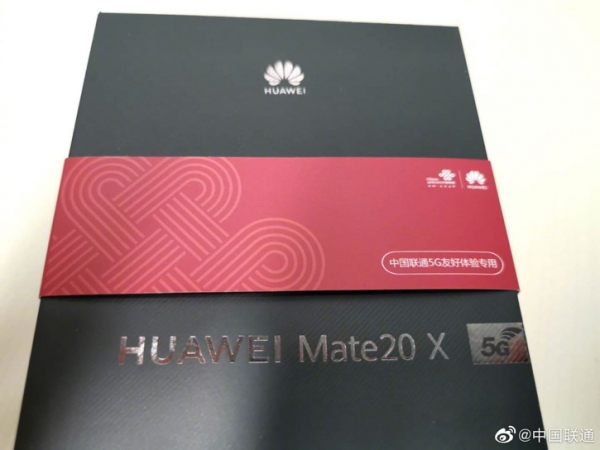 Коробка Huawei Mate 20 X 5G на фото: релиз в ближайшее время?