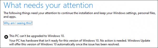 Microsoft готовит обновление Windows 10, но его можно будет установить не на всех компьютерах