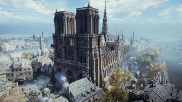Ubisoft бесплатно раздает игру Assassin's Creed Unity