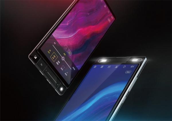 Изображения смартфона Asus 5G: двойной слайдер с экраном без отверстий и вырезов