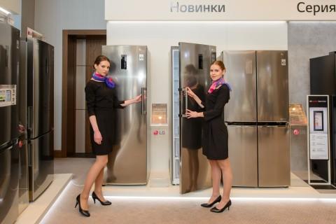 LG презентовала в России новую умную технику для дома