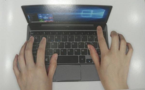 GPD готовит мини-ноутбук с 8,9-дюймовым дисплеем и сканером отпечатков пальцев