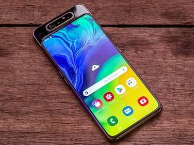 Samsung Galaxy A80: большой дисплей без рамок и поворотная камера