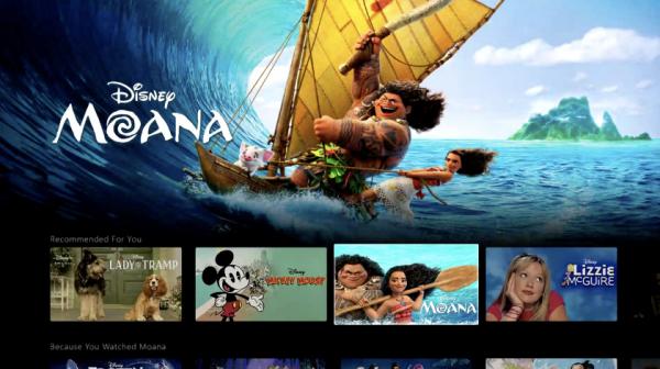 Disney+: потоковый сервис компании с ежемесячной подпиской в $7
