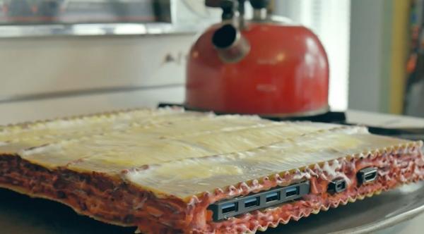 Pasta PC – нелепый компьютер из макарон