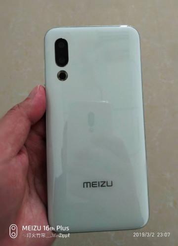 Новые живые фото Meizu 16s