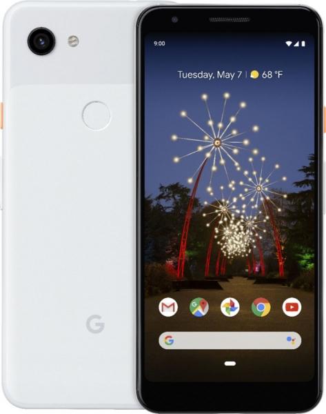 Новый качественный рендер Google Pixel 3a в белом цвете