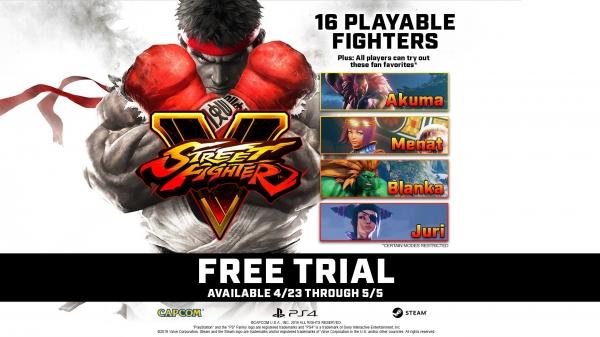 Подарок намайские праздники: Street Fighter 5 станет бесплатной надве недели