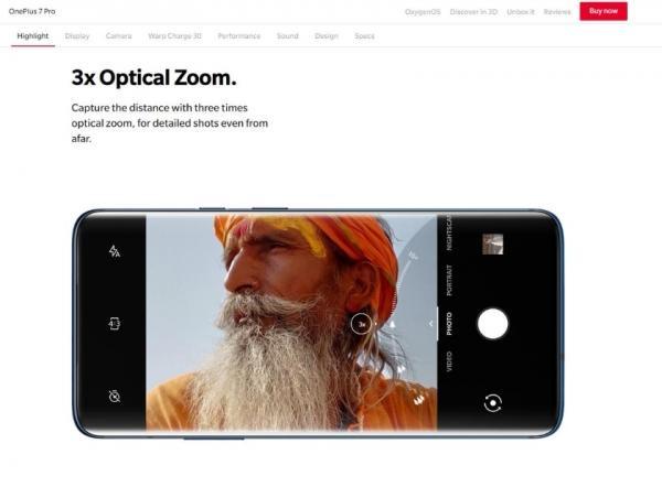 OnePlus обманула пользователей: в OnePlus 7 Pro нет 3-кратного оптического приближения
