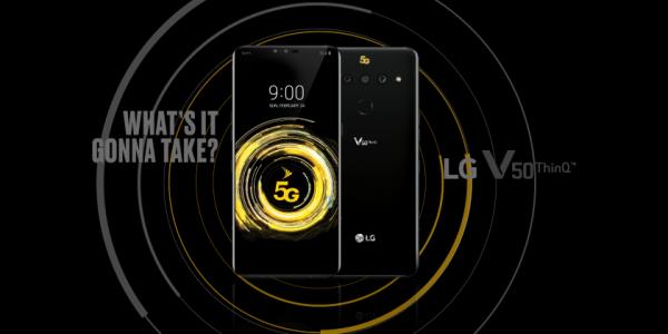 LG V50 ThinQ 5G появится в продаже 10 мая