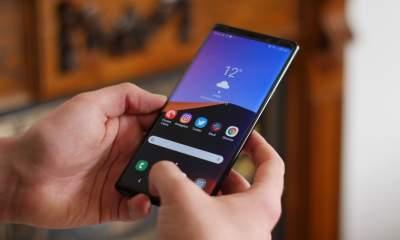 Samsung выпустила новое обновление для Galaxy Note 9