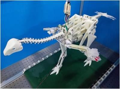 Создан крылатый робот-динозавр