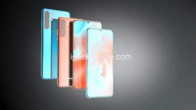 Появились изображения концептуального 5G-смартфона Huawei