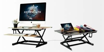 Представлен двусторонний электрический письменный стол