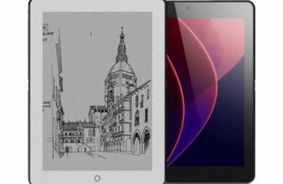Квыходу готовится планшет сдвумя экранами