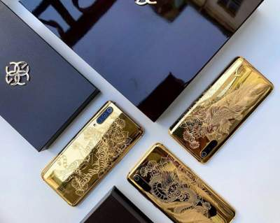 Xiaomi Mi 9 выйдет в золотом корпусе