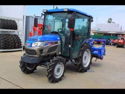В Японии выпустили беспилотный трактор
