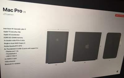 Apple готовит новую версию ноутбука Mac Pro
