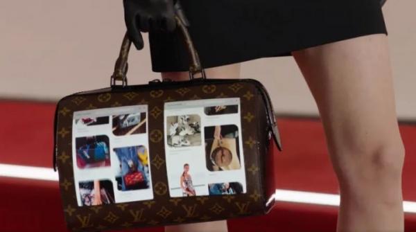 Louis Vuitton показал сумочки с гибкими дисплеями