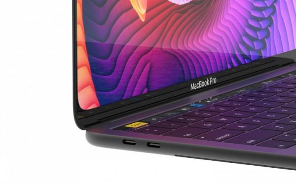 Apple разрабатывает MacBook с безрамочным OLED-дисплеем